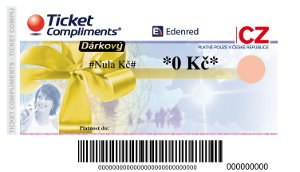 Endenred Ticket Compliments